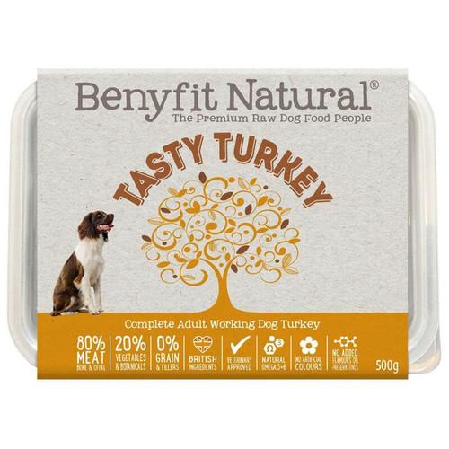 Benyfit Natural Premium RAW Dog Food Tasty Turkey