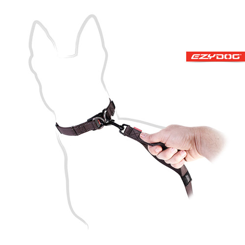 EzyDog Soft Trainer Leash Trafic Handle View