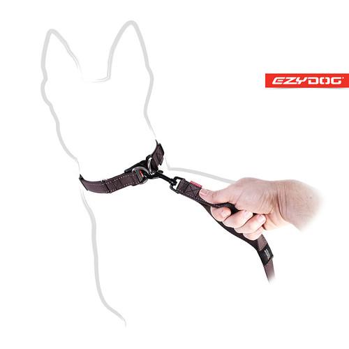 EzyDog Soft Trainer Leash Trafic Handle View