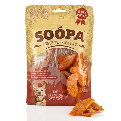 Soopa Sweet Potato 100% NAtural Raw baked Dog Treats