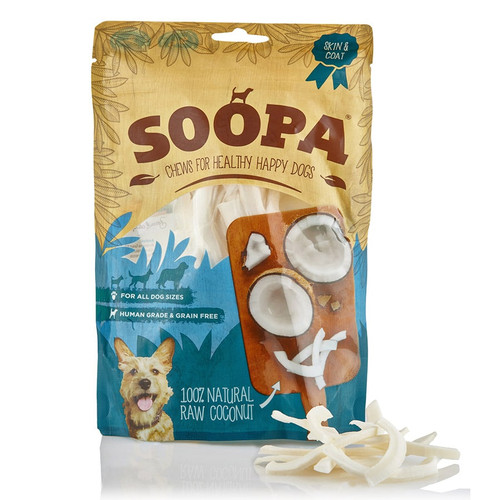 Soopa Coconut 100% Raw Baked Dog Chew