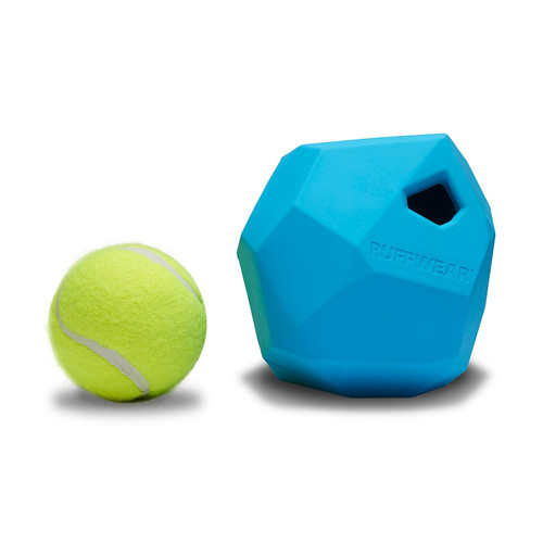 Ruffwear Gnawt-A-Rock Rugged, Durable treat dispensing dog toy