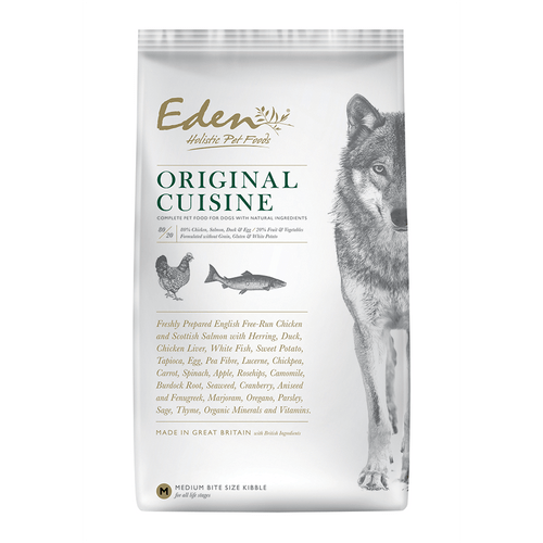 Eden Holistic Dog Food. Original Cuisine