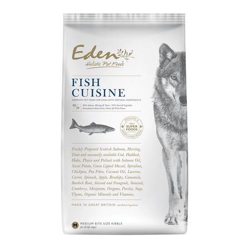 Eden Holistic Dog Food. Fish Cuisine