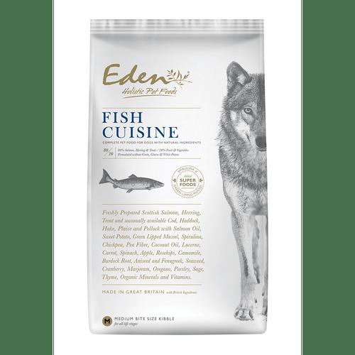 Eden Holistic Dog Food. Fish Cuisine