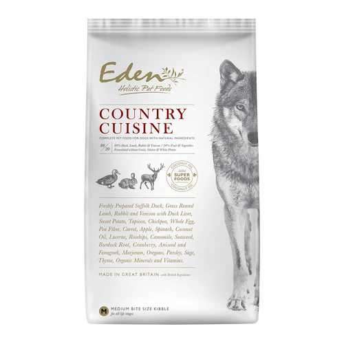 Eden Holistic Dog Food. Country Cuisine