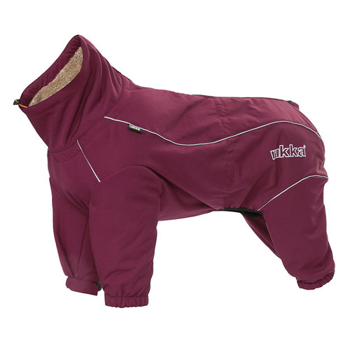 Rukka Thermal Overalls for dogs in colour Wine