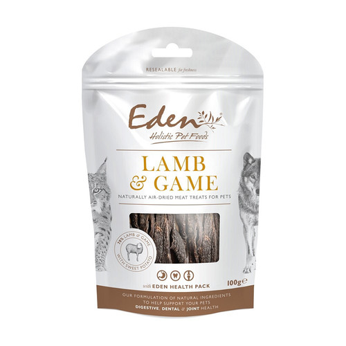 Eden Holistic Lamg and Game dog Treats