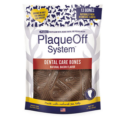 SwedenCare ProDen PlaqueOff Dental Bones Pack Bacon Flavour