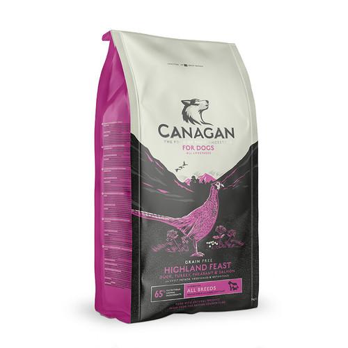 Canagan Highland Feast Dry Dog Food at K9active. Edinburgh, Lothians and Fife