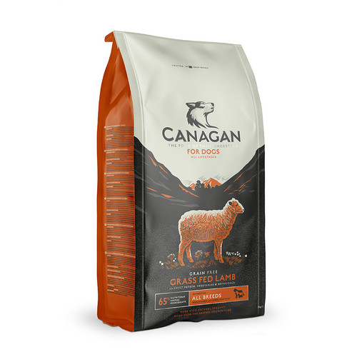 Canagan Grass-fed Lamb dog food available in Edinburgh and Fife