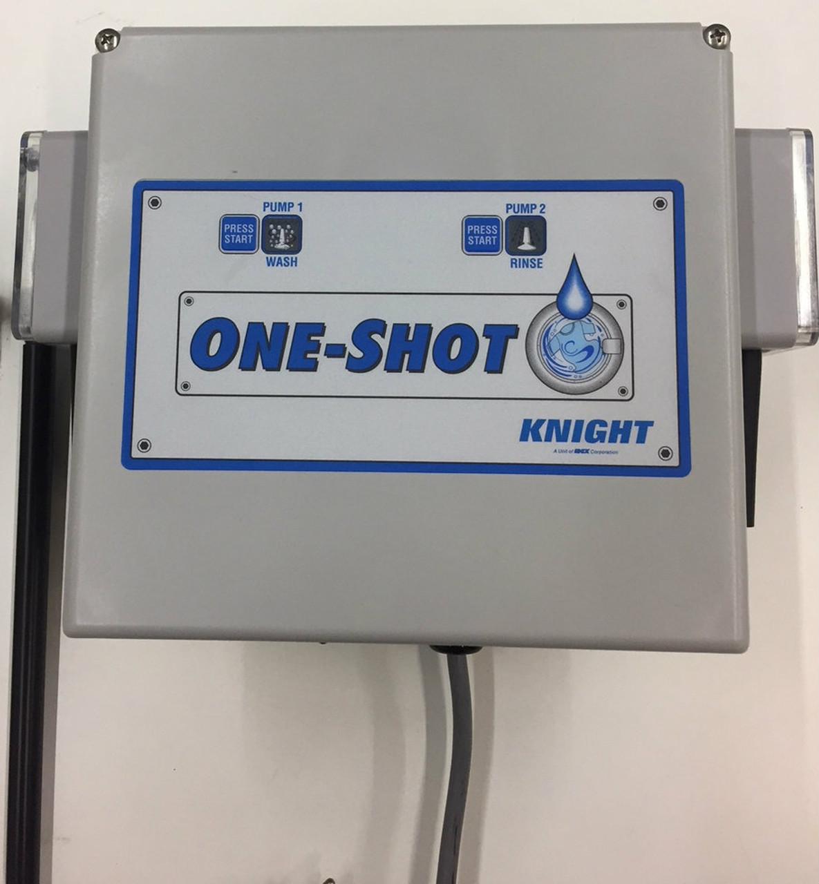KNIGHT OS-200L ONE-SHOT Dispensing System, 2 Pumps, Internal Transformer