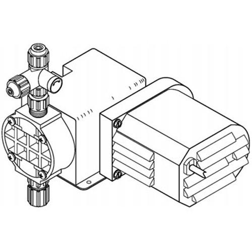 Pulsafeeder Chem100 Chem Tech Series Metering Pump Chemical Feed