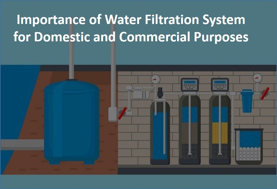 Importance of Water Filtration System for Domestic and Commercial Purposes