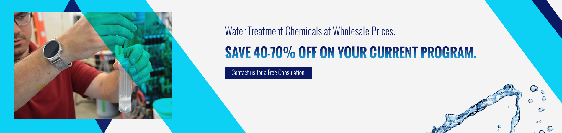 water treatment chemicals at wholesale prices