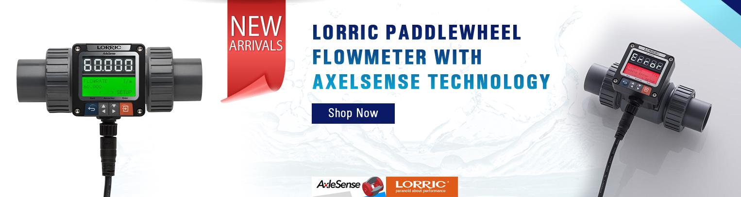 LORRIC Paddlewheel Flowmeter