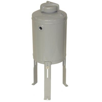 Vector FA-1000AL 5 Gallon By-pass Feeder with Legs and Flec Closure Style  Cap, 200 PSI, 200 F