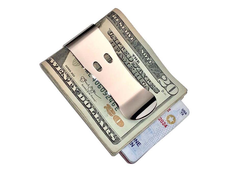 Polished Money Clip