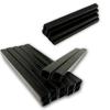 """10,000 Hyper Black Staples 22 Gauge 3/8"""" 10mm Crown 3/8"""" 10mm Length 22Ga 10mm Black Chisel Point Upholstery Staples"""