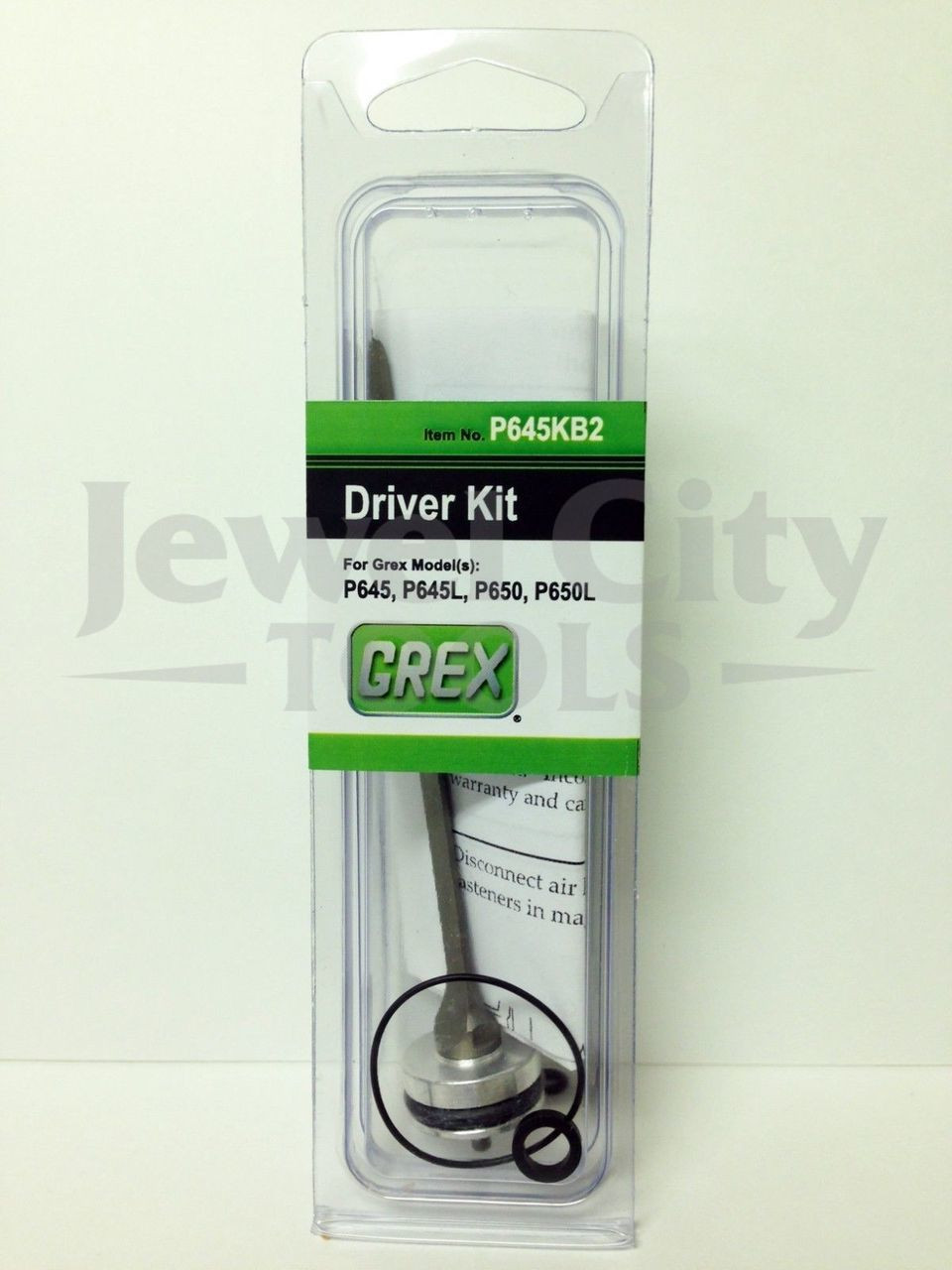 Grex H850LX Pinner Nailer OEM Original Driver & Maintenance Kit w/ Bumper--Part # H850LXKB