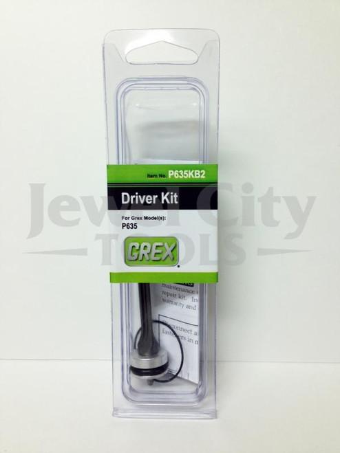 Grex Original OEM Replacement Driver Kit for P635 Pinner Nailer - P635KB2 (660292130023)