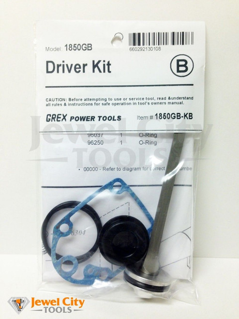 Grex Replacement Driver Kit 1850GB - Part # 1850GB-KB
