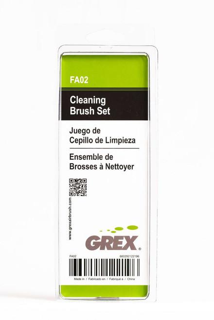 Grex Airbrush Full Cleaning Brush Set - FA02