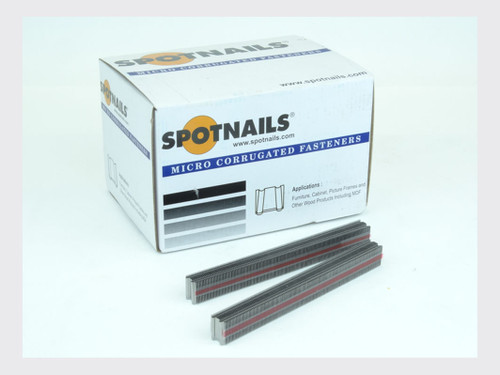 "Spotnails 1/2"" Crown 3/8"" Long Micro Corrugated Fasteners - FFS-MICRO10	(FFS-MICRO10	)"