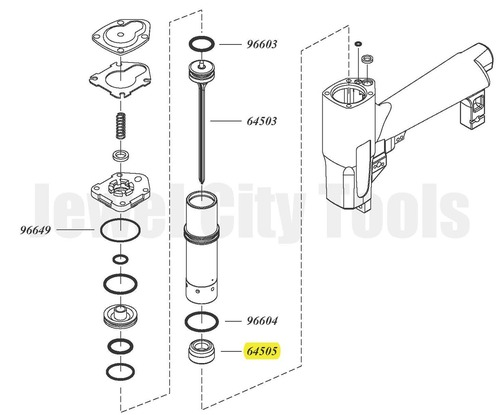 Grex P645 P645L P650 P650L Replacement Bumper - 64505 (64505 )