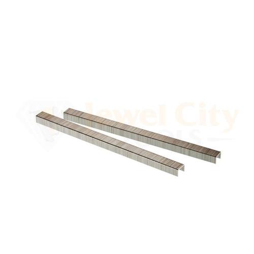"22 Gauge (22 Ga.) 3/8"" Crown 5/32"" Length Fine Wire Staples 10,000 pcs Galvanized C-Series by Unicatch (87706) C02"
