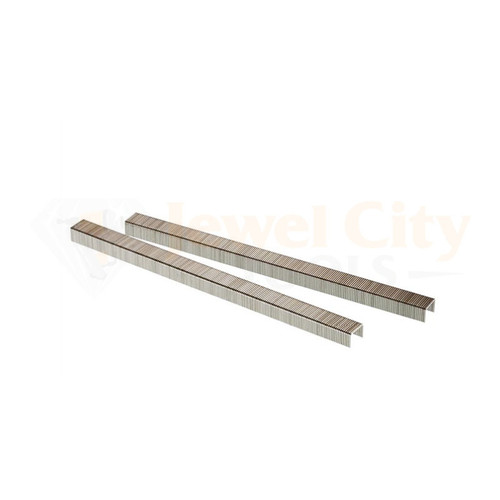 "22 Gauge (22 Ga.) 3/8"" Crown 1/2"" Length Fine Wire Staples 10,000 pcs Galvanized C-Series by Unicatch (87727) C13"