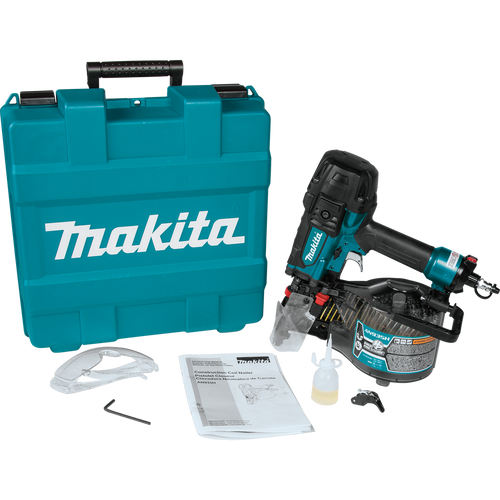 "Makita 3‑1/2"" High Pressure Framing Coil Nailer AN935H Nail Gun (088381808019)"