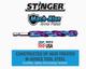 "19014 Spyder Stinger 3/8"" 9.5mm Drill Bit Mach-Blue High Speed Steel HSS 884835008345"