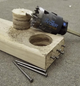 """600895 Spyder Tarantula 7/8"""" Inch Hole Saw Tungsten Carbide-Tipped Non-Arbored Hex 8 for Steel, Wood, Plastics + More"""