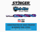"19011 Spyder Stinger 15/64"" 6mm Drill Bit Mach-Blue High Speed Steel HSS 884835008314"