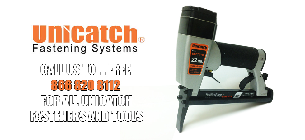 UNICATCH PINNERS NAILERS FASTENERS