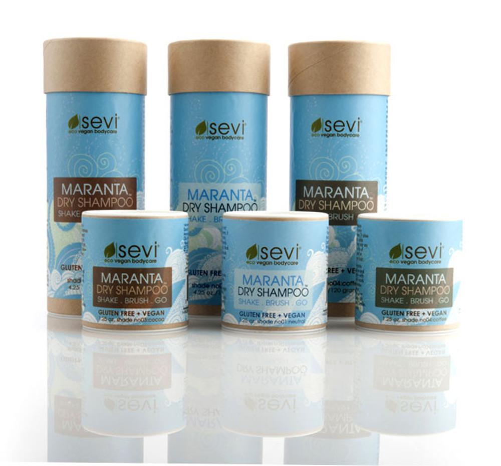 Maranta Dry Hair Shampoo : Vegan Hair Powder