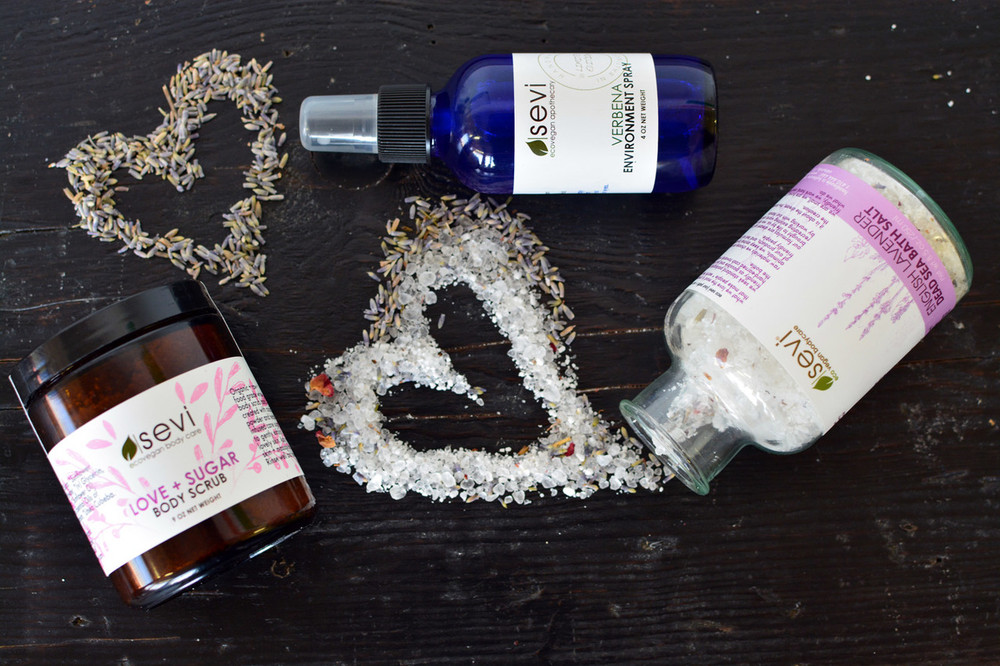 Verbena and Lavender Apothecary Care Kit