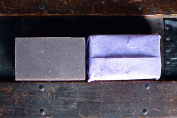 Organic cold pressed lavender body soap