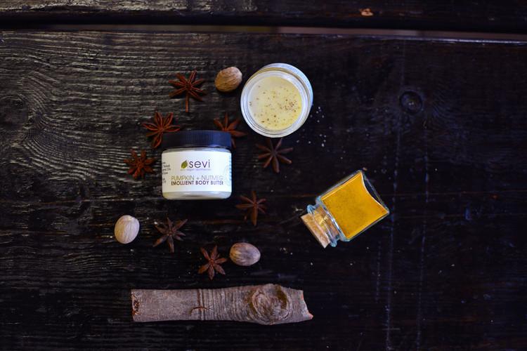 Pumpkin + Nutmeg Emollient Body Butter : Limited Edition