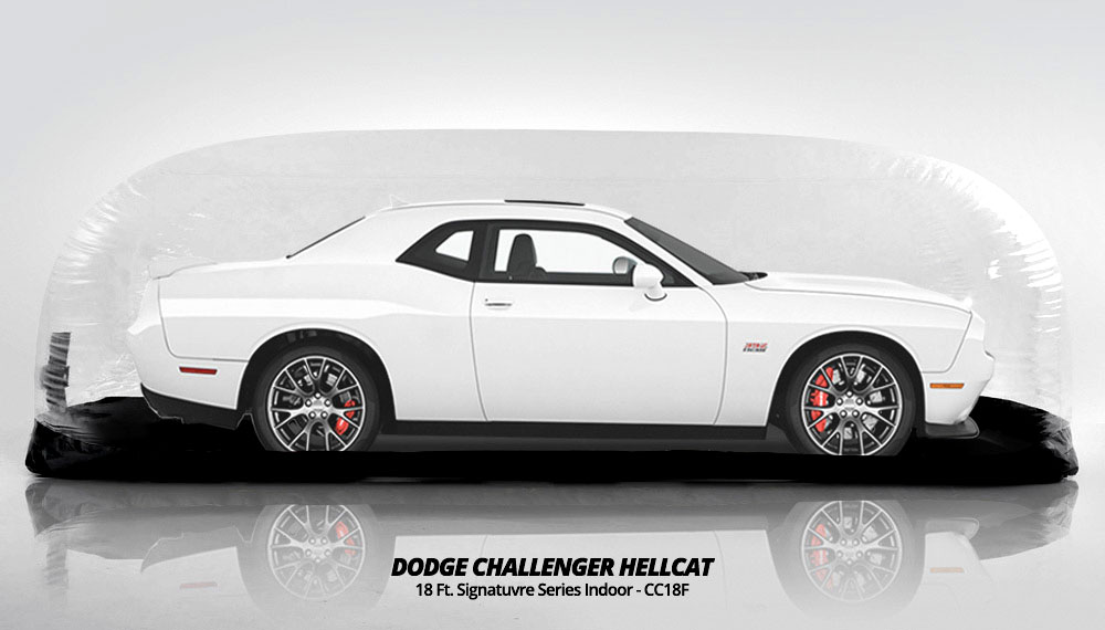Dodge Challenger Hellcat Protection & Storage by Car Capsule