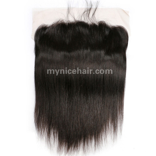 13x4 Pre-plucked Frontal Straight Unprocessed Virgin Human Hair