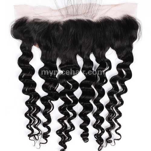 13x4 Pre-plucked Frontal Loose Wave Unprocessed Virgin Human Hair