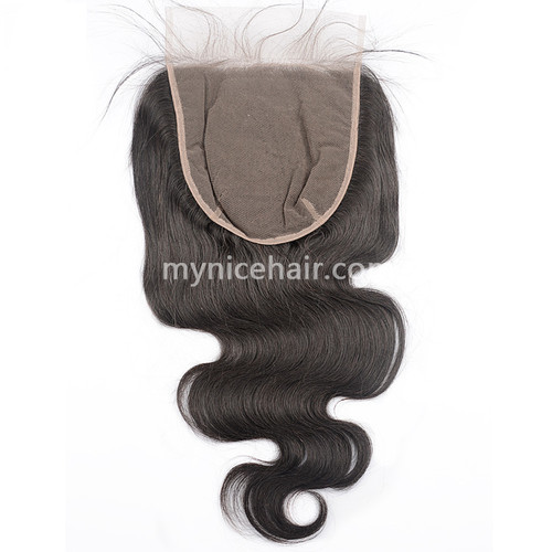 5x5 6x6 7x7 Pre-plucked Top Closure Virgin Body Wave Human Hair