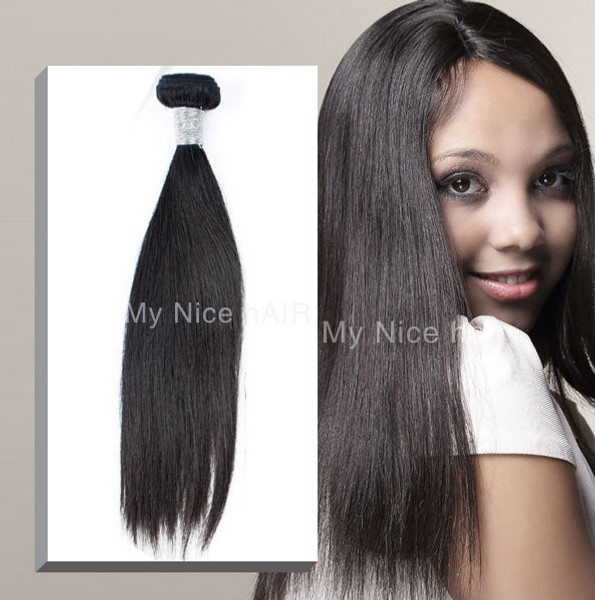 High Quality 1 Bundle  Virgin Peruvian Human Hair Straight 10inch-40inch Available