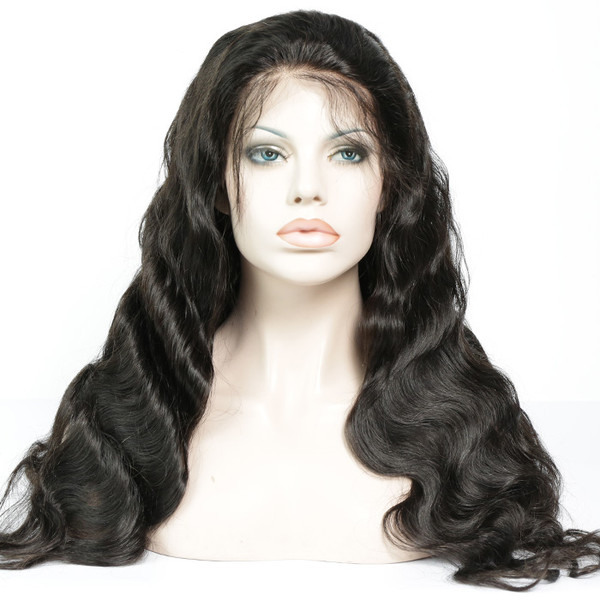 Lace Front Wig Pre-plucked Remy Virgin Human Hair Body Wave