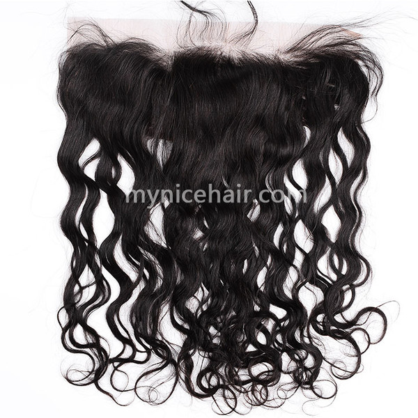 13x4 Pre-plucked Frontal Natural Curly Unprocessed Virgin Human Hair