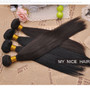 High Quality 3 Bundles Virgin Brazilian Human Hair Silky Straight Weave