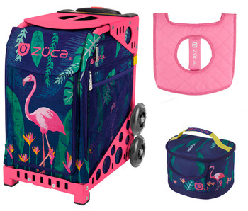 7c45029c62c6 Zuca Sport Bag - Skates & Bows with Gift Lunchbox and Seat Cover ...