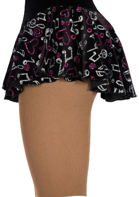 312 Jerry's Musical Notes Skirt - White